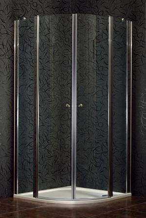 SMART 90 clear NEW - sprchová zástena štvrťkruhová