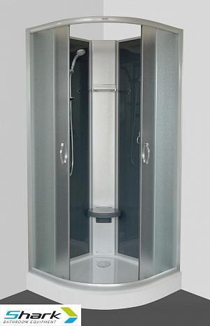 SUNNY 80 STONE -sprchový box s vaničkou z liateho mramoru