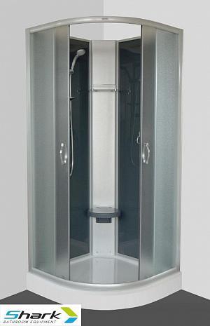 SUNNY 90 STONE -sprchový box s vaničkou z liateho mramoru