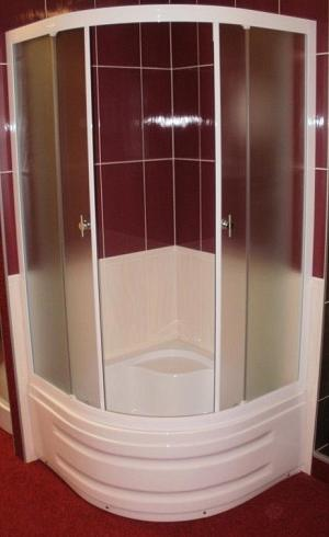 TOLEDO - sprchový kút s vysokou vaničkou