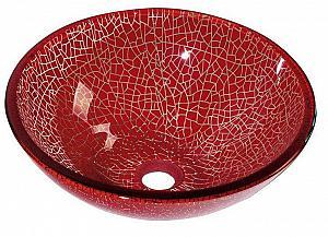 VENEZIA  - sklenené umývadlo priemer 42 cm